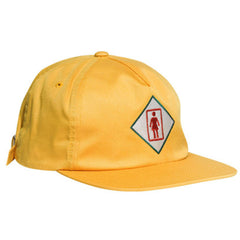 Girl Tourist Strapback Men's Hat - Sunshine