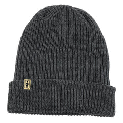 Girl OG Folded Men's Beanie - Heather Grey