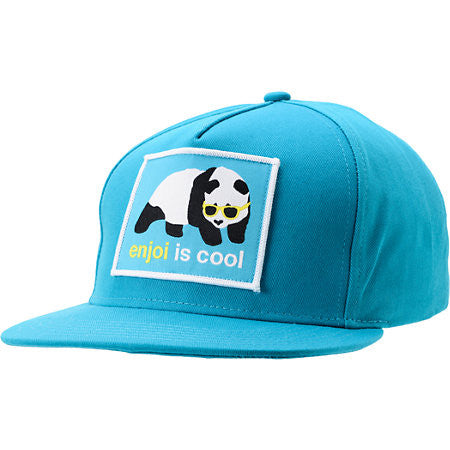 Enjoi Cool Men's Snapback Hat - Turquoise