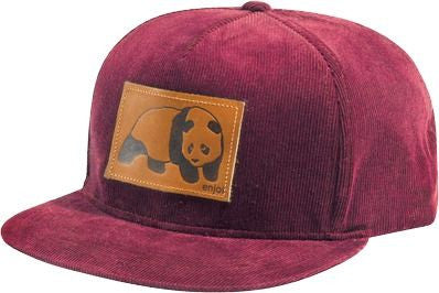 Enjoi Happy Daze Snapback Men's Hat - Oxblood