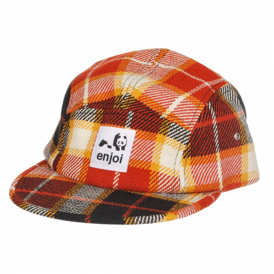 Enjoi Dumb Step Strapback Men's Hat - Orange