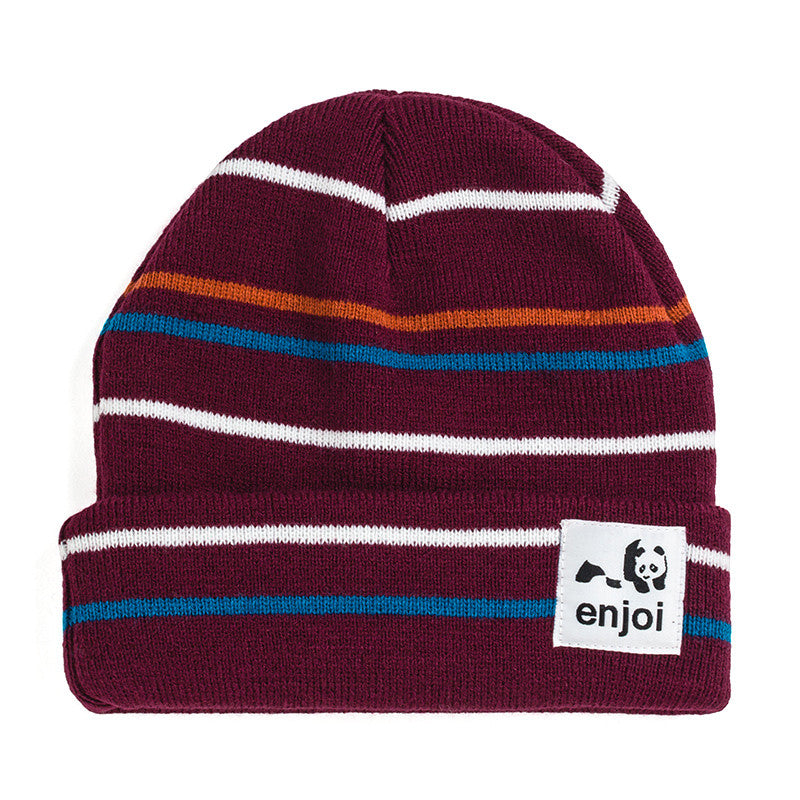 Enjoi Hairline Receder Men's Beanie - Oxblood