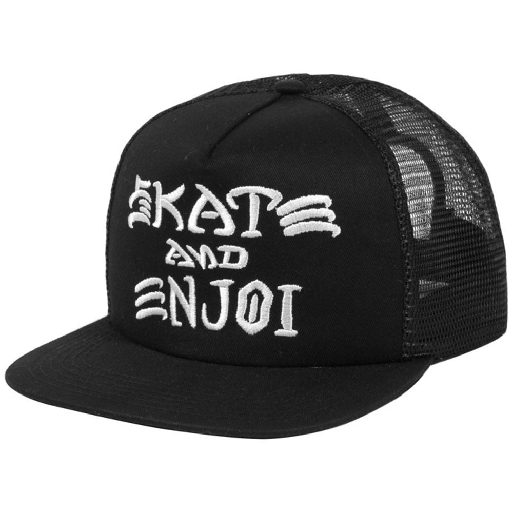 Enjoi Skate & Enjoi Men's Hat - Black