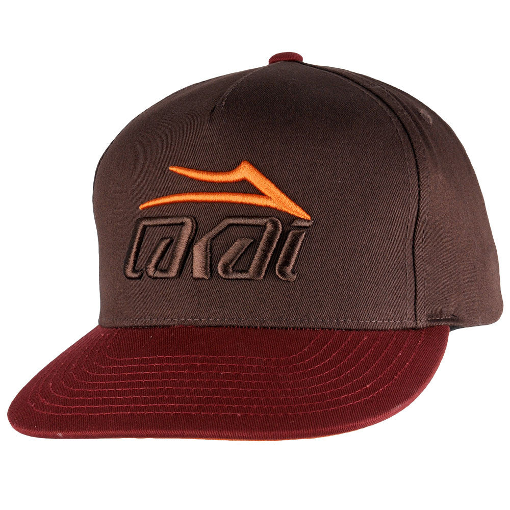 Lakai Tonal Snapback Men's Hat - Brown