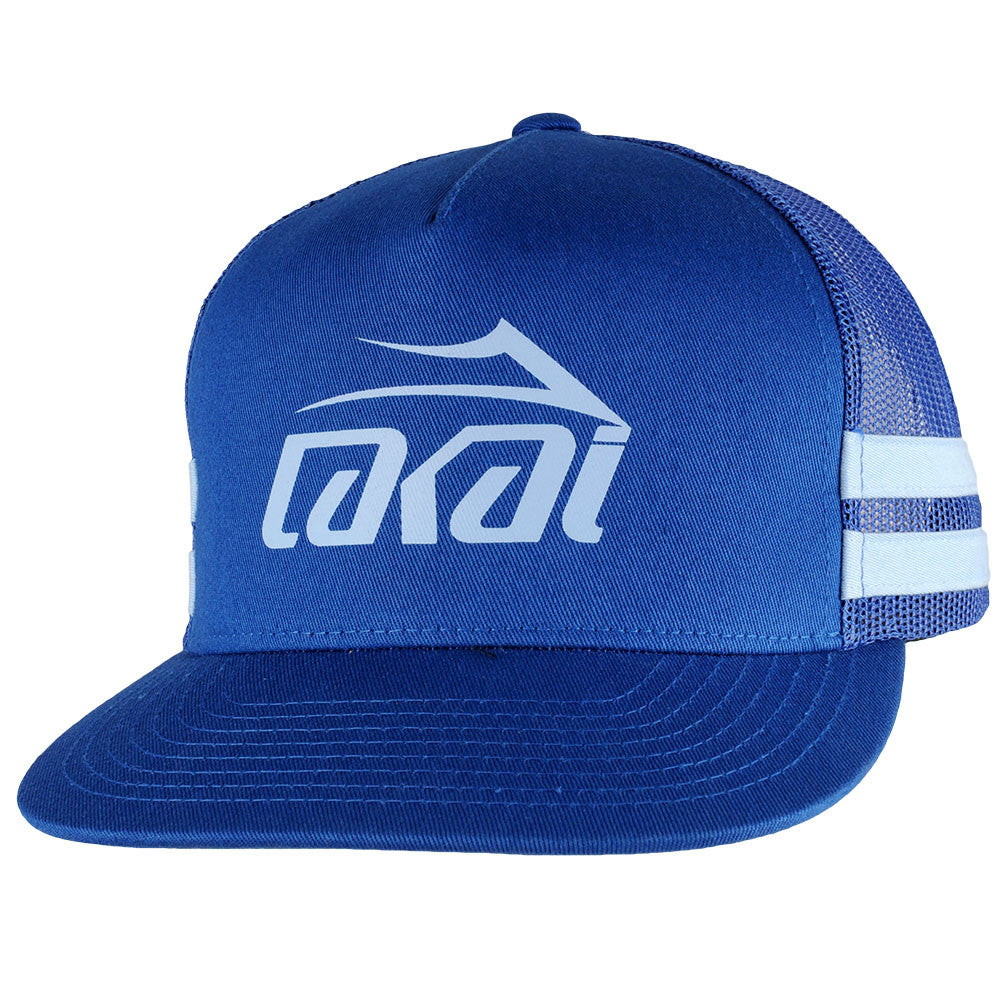 Lakai Mesh Logo Snapback Men's Hat - Royal
