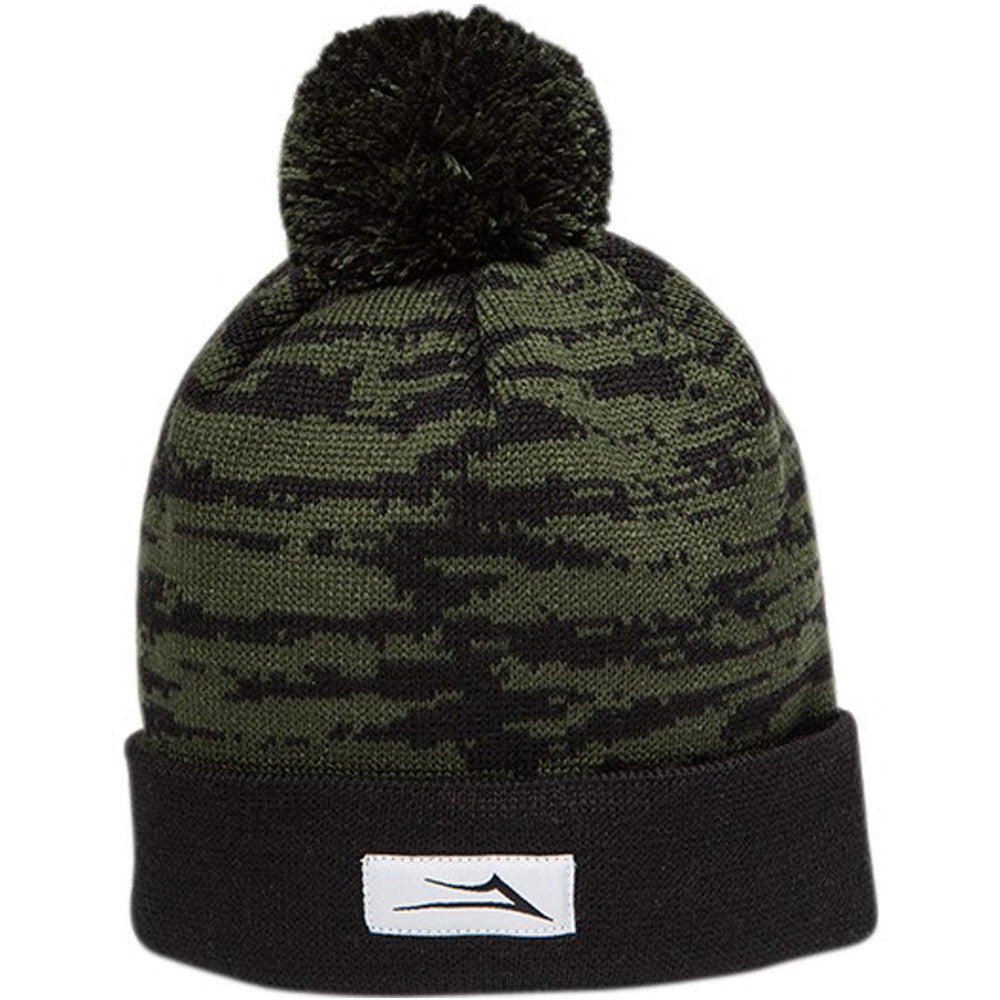 Lakai Nations Pom Men's Beanie - Black/Green