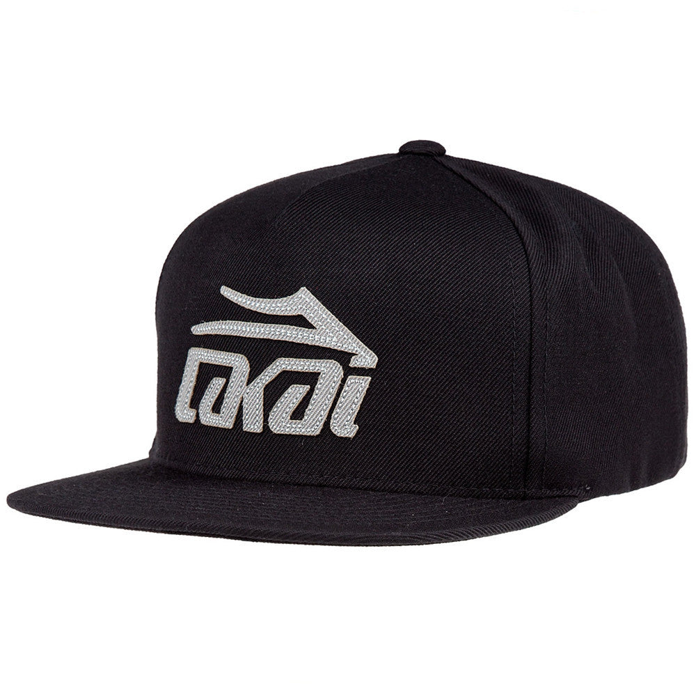 Lakai Etch Snapback Men's Hat - Black