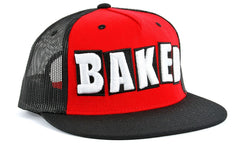 Baker Baked Men's Trucker Hat - Red