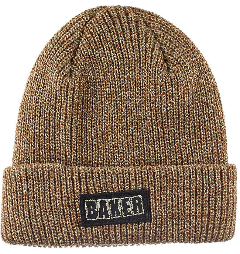 Baker Simpleton Men's Beanie - Brown/Heather