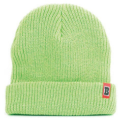 Baker Double Down Men's Beanie - Neon Green