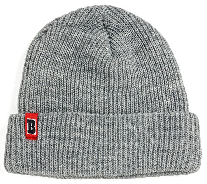 Baker Double Down Men's Beanie - Grey
