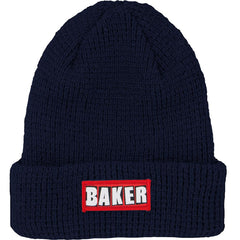 Baker Patch Adams Cuff Men's Beanie - Navy