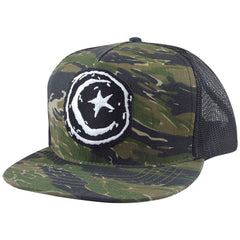 Foundation Star & Moon Patch Mesh Men's Hat - Camo