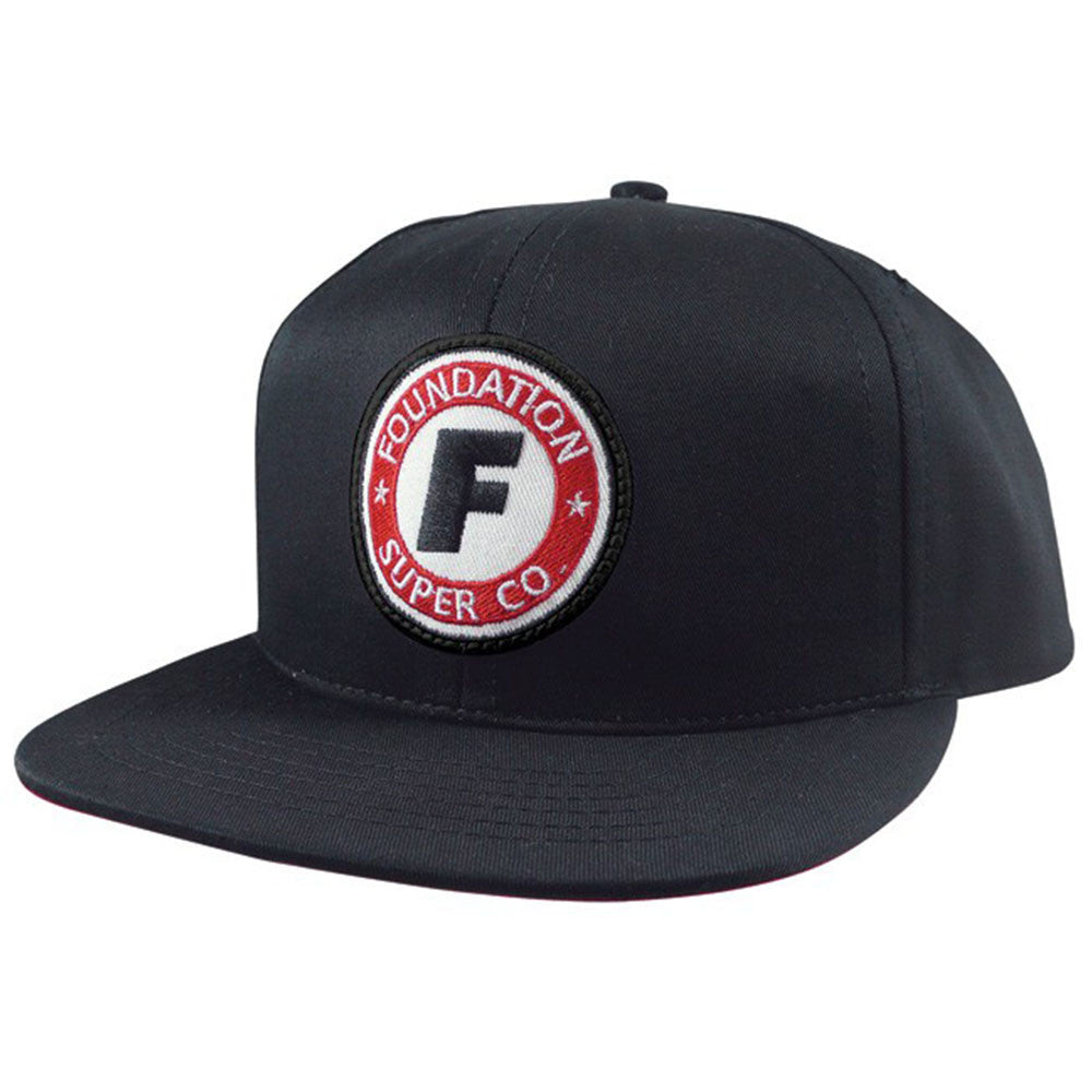 Foundation Super Co Classic Men's Hat - Black