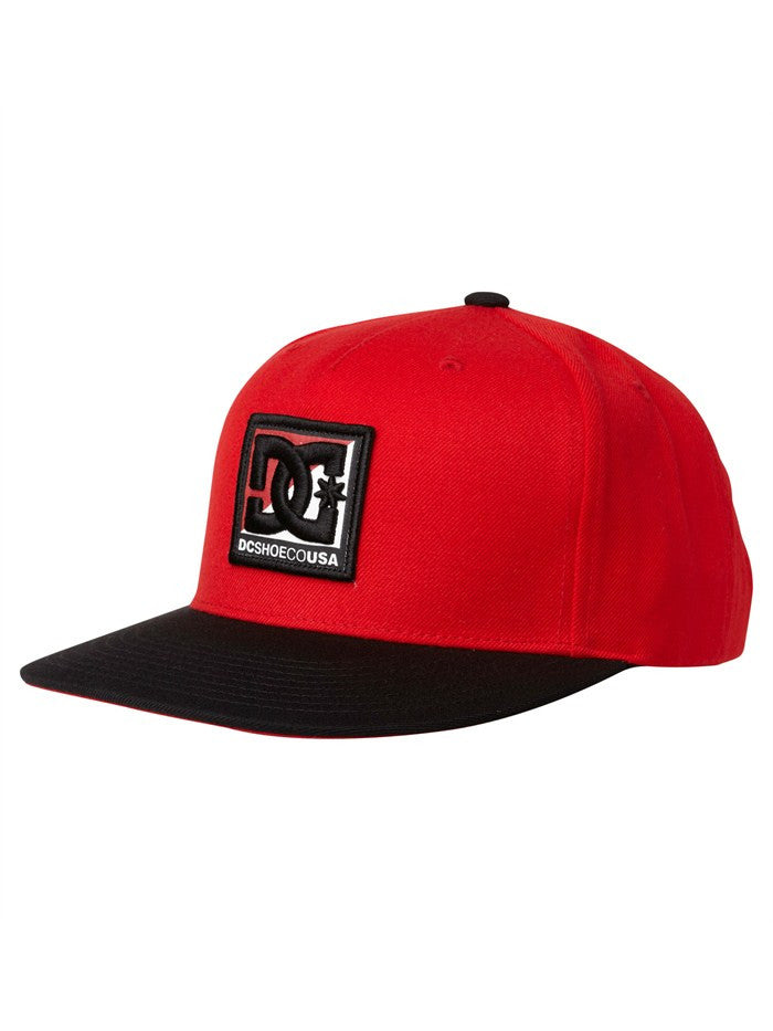 DC Whipped Snapback Men's Hat - Athletic Red