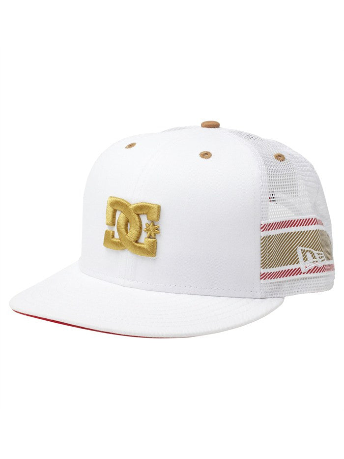 DC Rob Dyrdek Lux Stripe Snapback Men's Hat - White