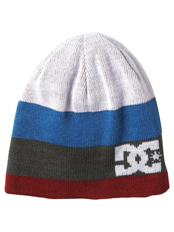 DC Anthony Men's Reversible Beanie - Biking Red