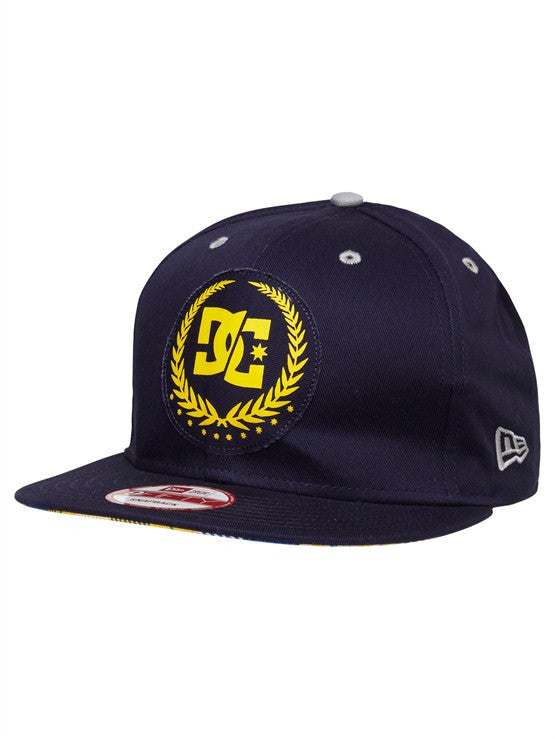 DC Travis Pastrana Split Star Snapback Men's Hat- DC Navy