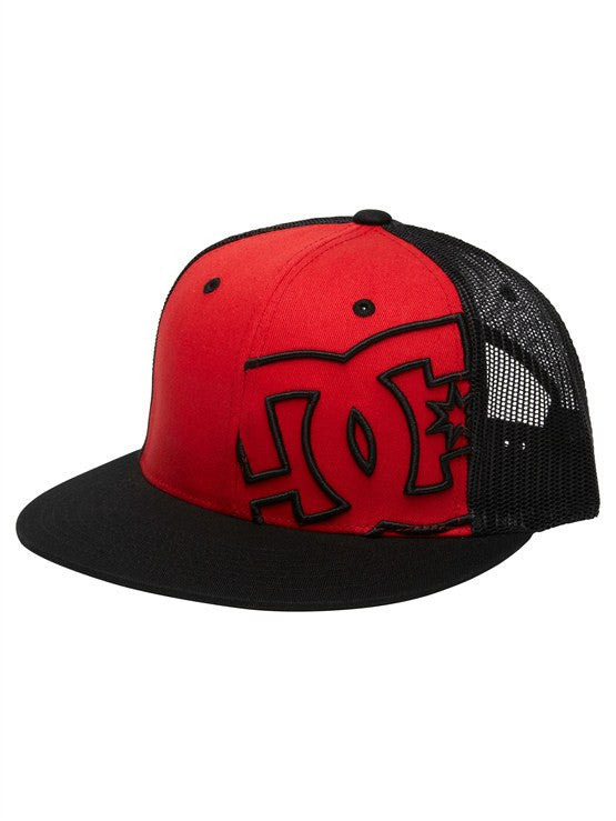 DC Daxstar Snapback Men's Hat - Athletic Red