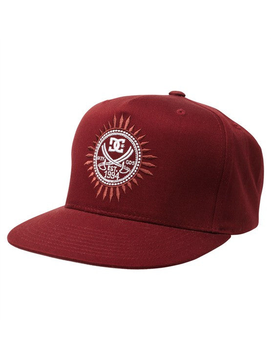 DC Creebar Snapback Men's Hat - Marooned