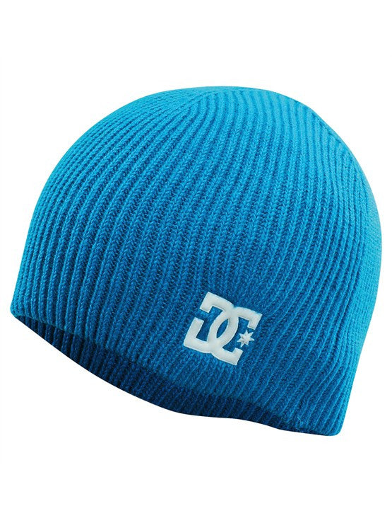 DC 4X Skully Men's Beanie - Blue Jewel