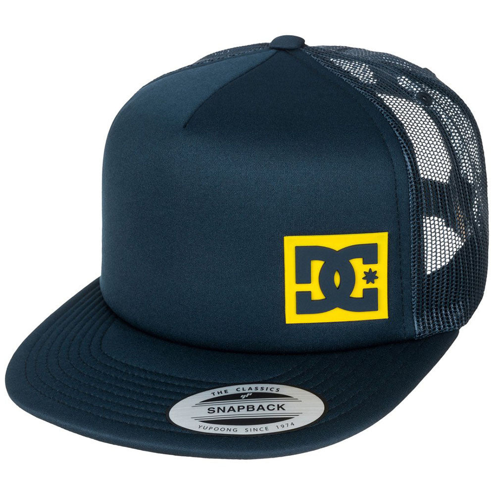 DC Blanderson Snapback Men's Hat - Deep Water BPD0