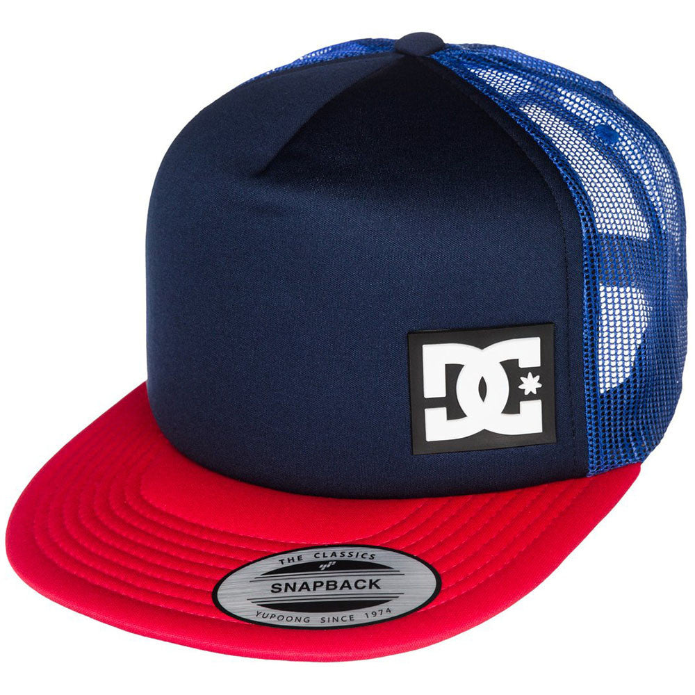 DC Blanderson Snapback Men's Hat - Blue/Blue/Red XBBR
