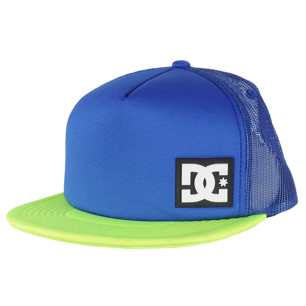 DC Blanderson Snapback Men's Hat - Blue/Blue/Yellow XBBY