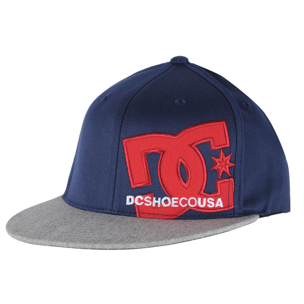 DC Franchise Fitted Men's Hat - Blue/Blue/Grey XBBS