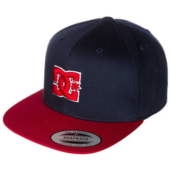 DC Snappy Snapback Men's Hat - Blue/Blue/Red XBBR