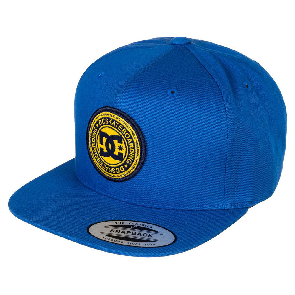 DC Stapler Snapback Men's Hat - Snorkel Blue BRT0