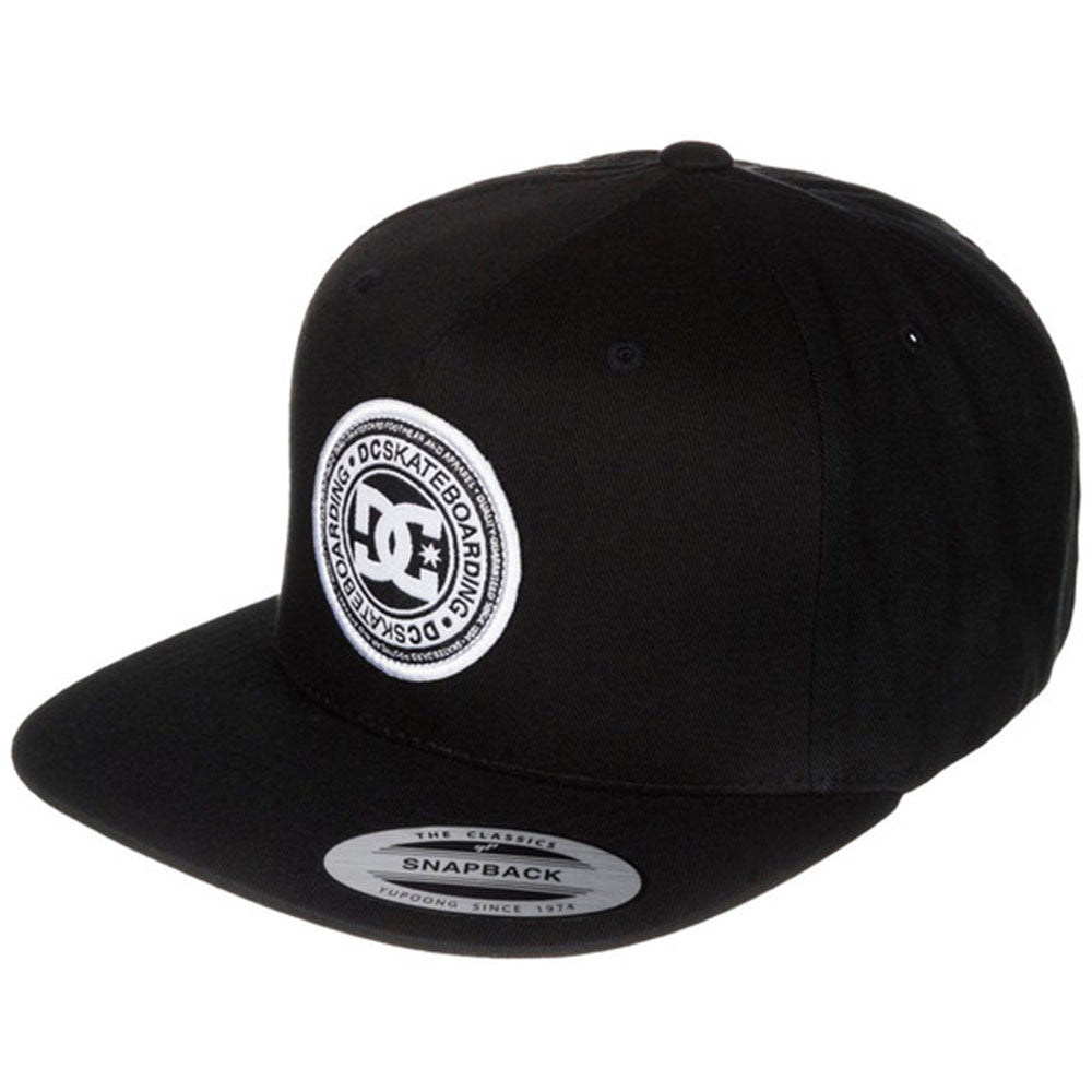 DC Stapler Snapback Men's Hat - Anthracite KVJ0
