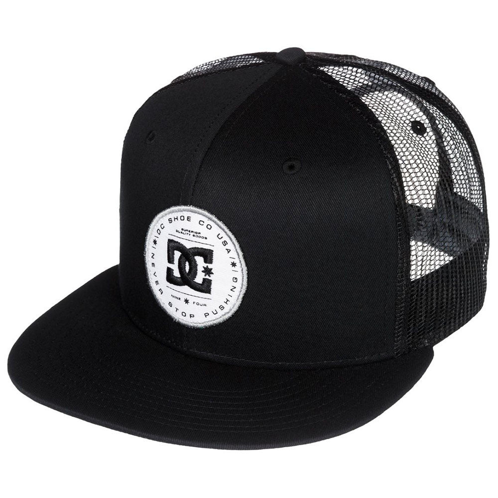 DC Daxbred Trucker Men's Hat - Anthracite KVJ0