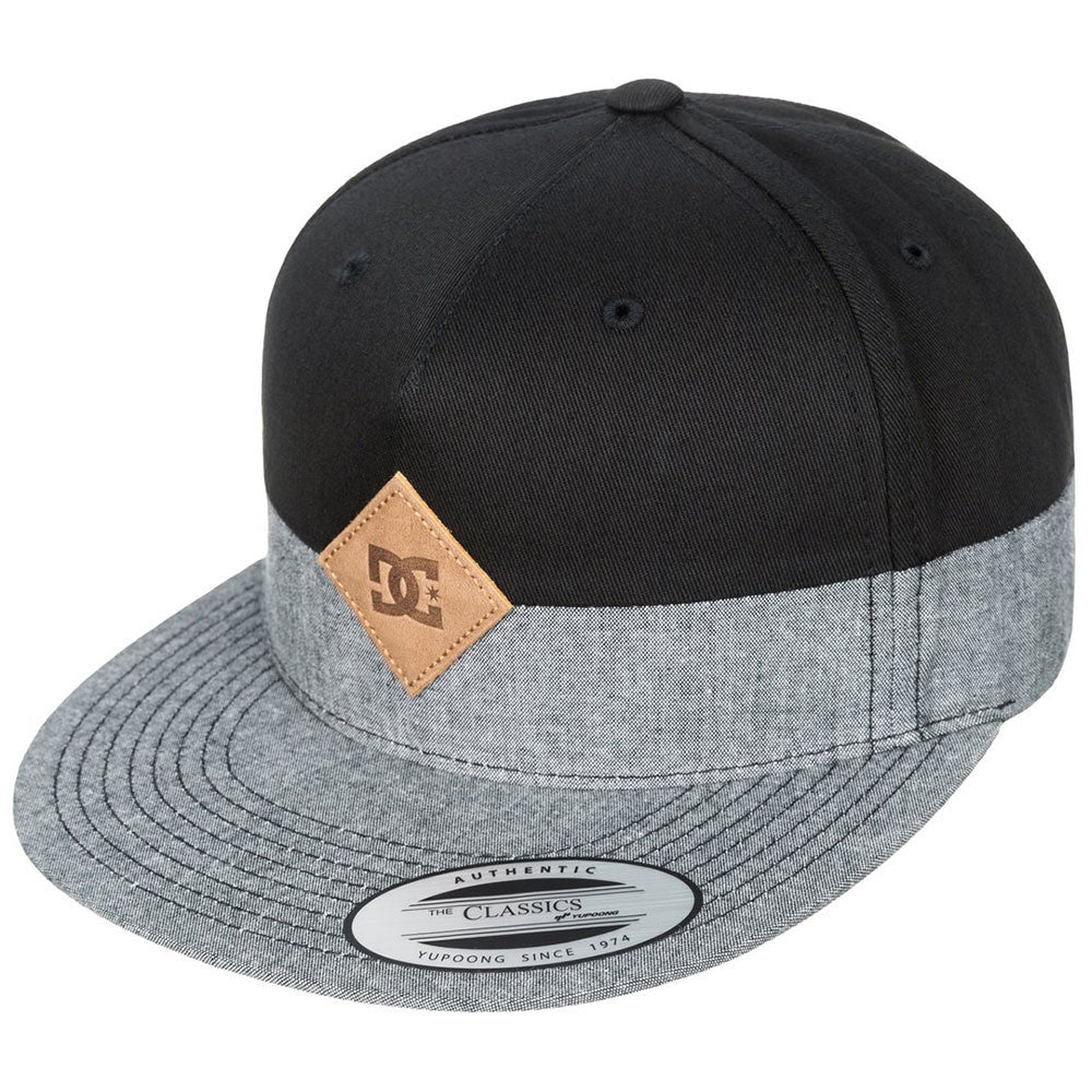 DC Halfer Snapback Men's Hat - Anthracite KVJ0