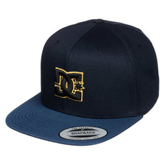 DC Snappy Men's Hat - Blue/Blue/Yellow XBBY