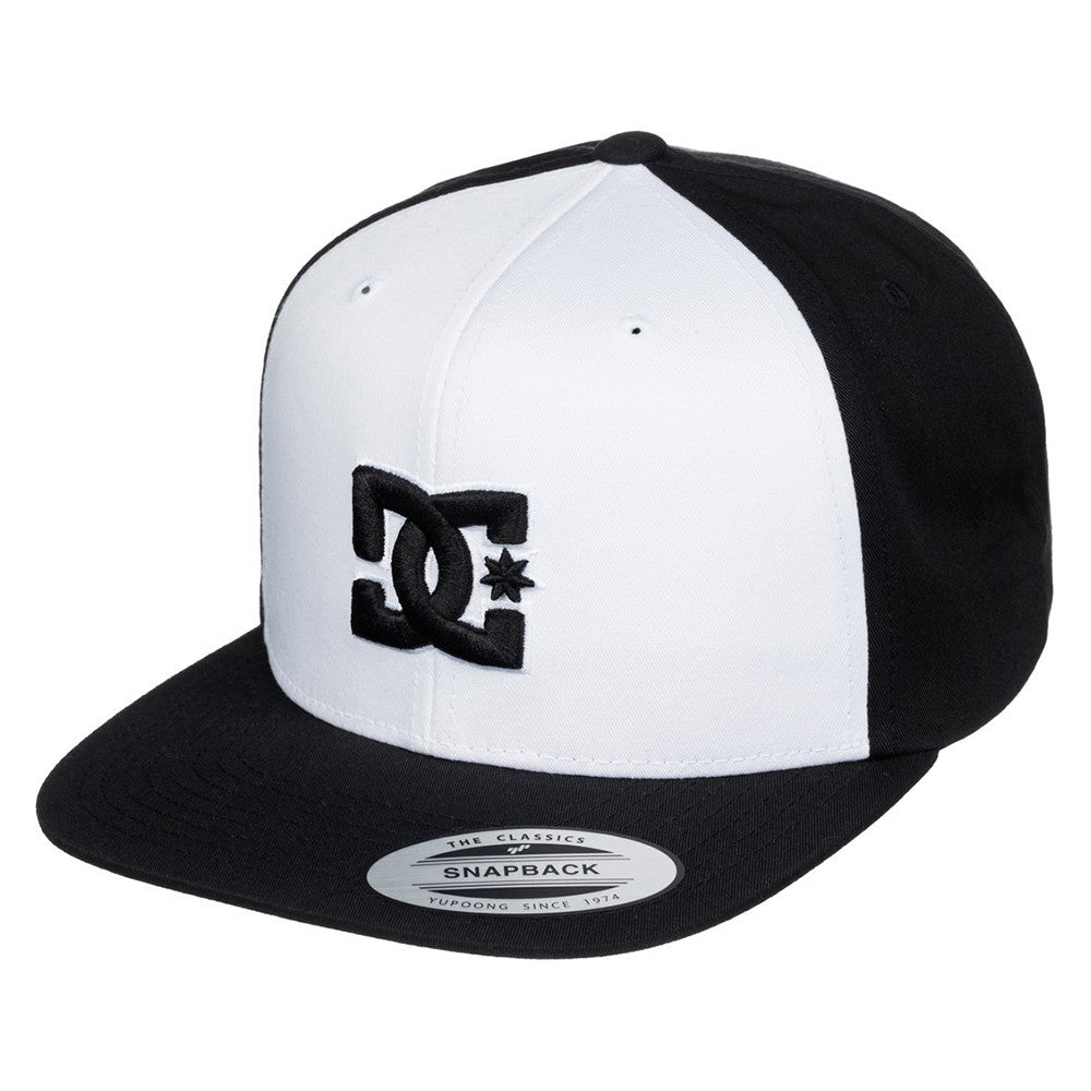DC Snappy Men's Hat - White/White/Black XWWK