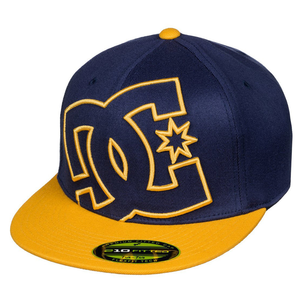 DC Ya Heard Men's Hat - Blue/Blue/Yellow XBBY