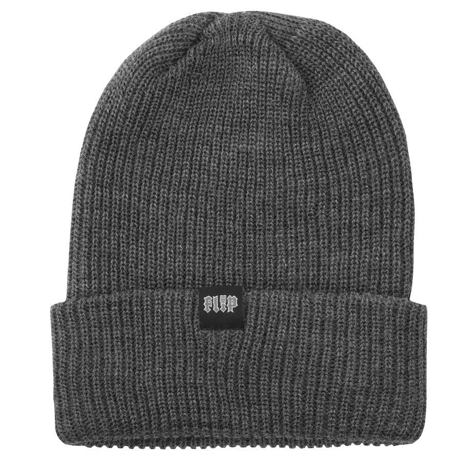 Flip HKD Trash Long Shoreman Men's Beanie - One Size Fits All - Charcoal