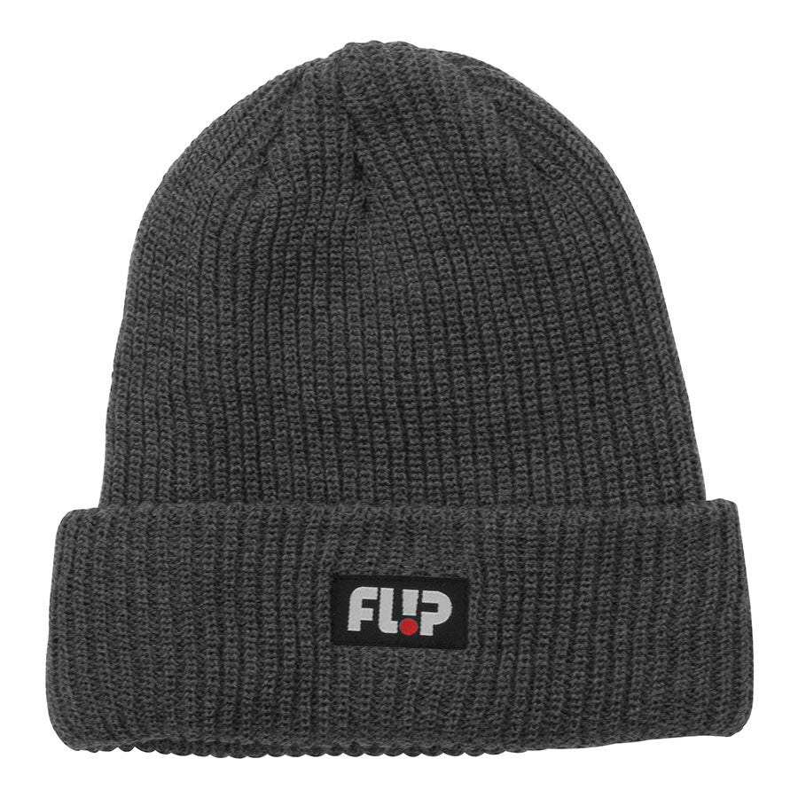 Flip Odyssey Long Shoreman Men's Beanie - One Size Fits All - Charcoal