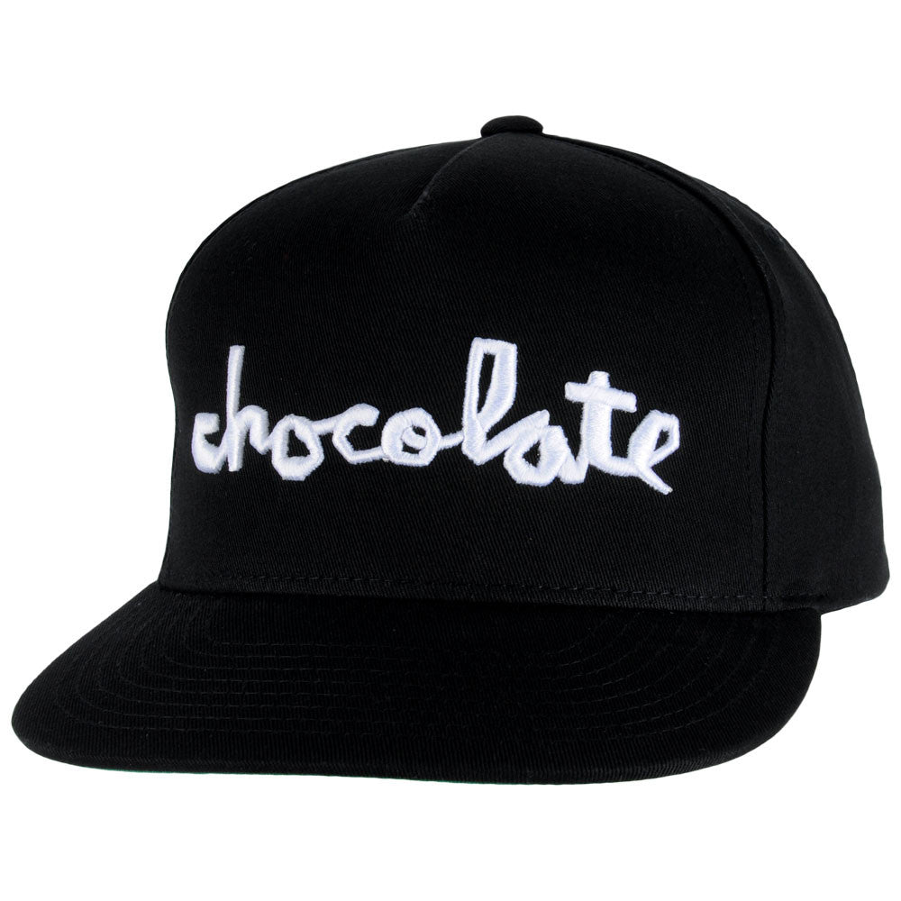 Chocolate Chunk Snapback Men's Hat - Black