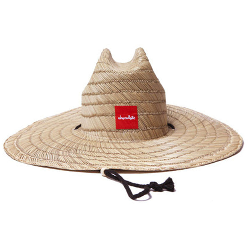 Chocolate Straw Men's Hat - Non-Color