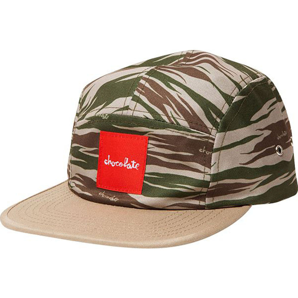Chocolate Camo Camper Men's Hat - Khaki