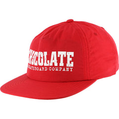 Chocolate Classic Nylon Men's Hat - Red