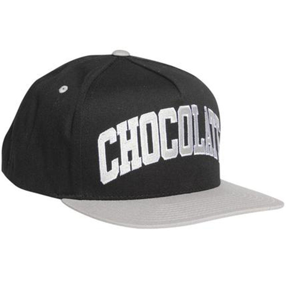Chocolate Arched League Men's Hat - Black/Grey