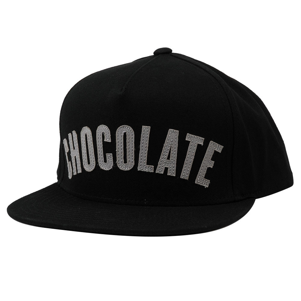 Chocolate League Snapback Men's Hat - Black