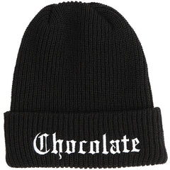 Chocolate Eazy-C Men's Beanie - Black