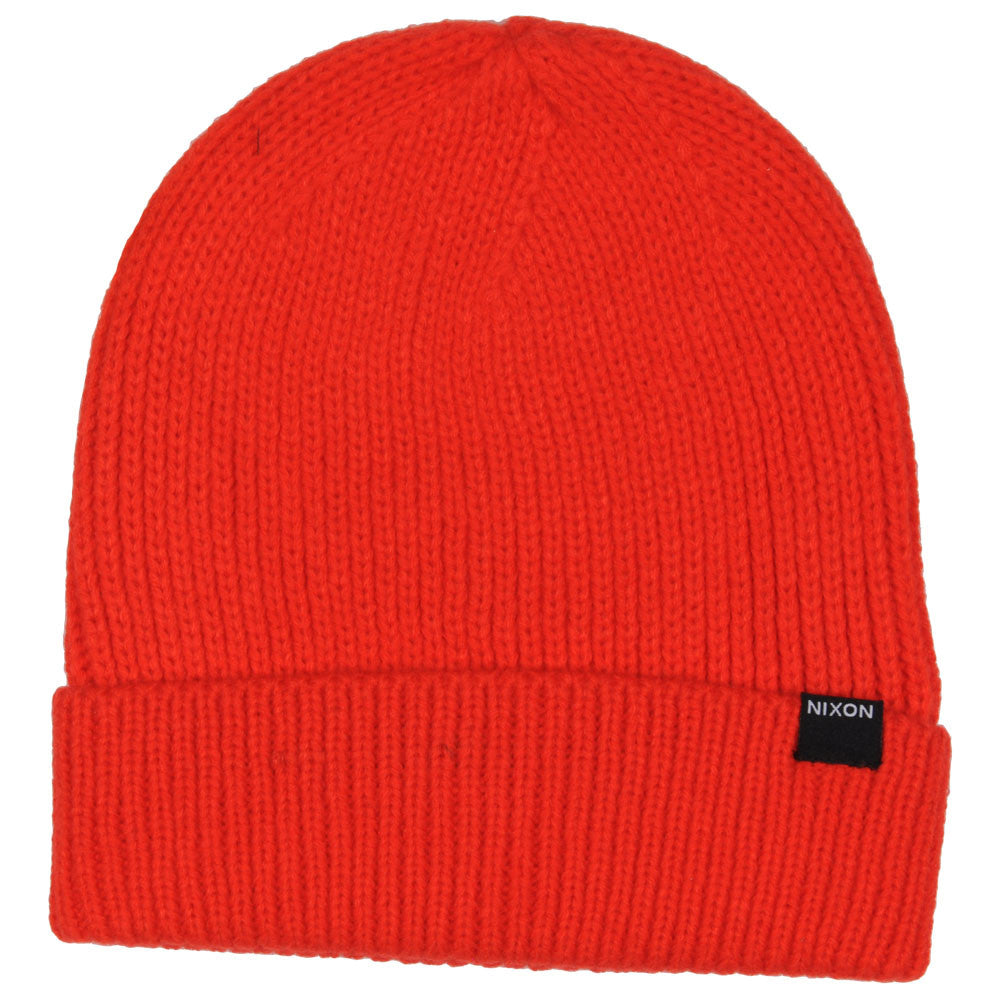 Nixon Regain Men's Beanie - Red