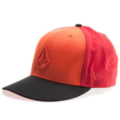 Volcom Full Stone Men's Hat - 7 3/8 - Red Combo