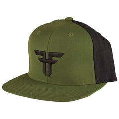 Fallen Trademark Starter Snapback Men's Hat - Surplus Green/Black