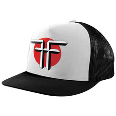Fallen Death Of Democracy Mesh Snapback Men's Hat - Black/White